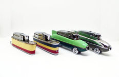 Sarome petrol lighters collection: 50-60's Cruiser and Blue Bird
