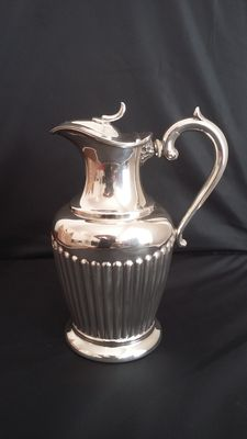 A.J Beardshaw& Co jug ewer silver plated 1850/1899 made in england.