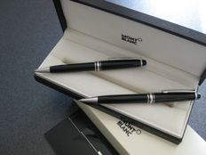 Montblanc Meisterstuck Platinum pencil and Ballpoint pen plus case and refills