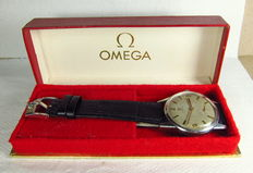Omega Manual Winding Men's Watch-Stainless Steel Case-Vintage 1962