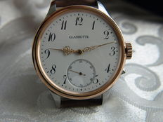 Glashütte men's marriage wristwatch 1904-1910