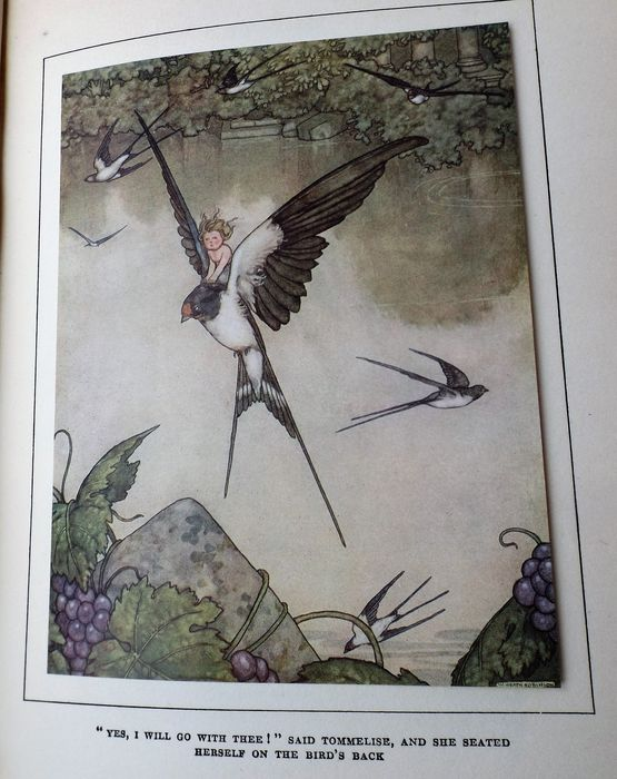 Hans Andersen's Fairy Tales with Illustrations by W. Heath Robinson - ca. 1927 for sale