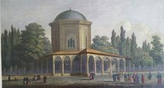 Antoine - Augustin Preault (1809 - 1879) - Tomb of Suleiman the Magnificent - 19.th C