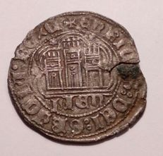 Spain – Enrique IV – Vellon cuartillo – Jaen mint – Year 1468–1471