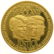United States – Medal For Peace and Justice (1917-1963) – gold