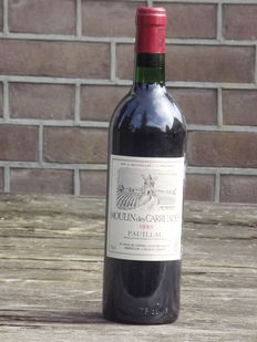 1980 Moulin des Carruades (Carruades de Lafite) de Lafite Rothschild - 1 bottle