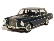 Norev - Scale 1/18 - Mercedes-Benz 280 SE 1968 - Blue