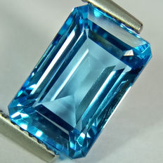 Swiss Blue Topaz - 5.21 ct