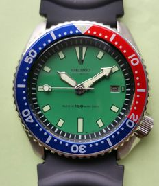 Seiko Vintage Pepsi Diver's watch - +/- 42 mm - from 01-1995