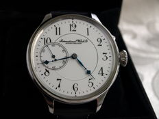 IWC Schaffhausen marriage men's wristwatch 1895-1900