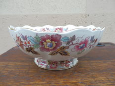 Bowl with ceramic backsplash Mason's-England, ca 1940