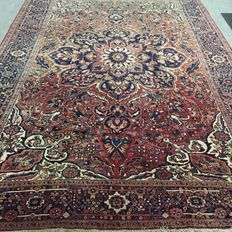 Large hand-knotted Persian carpet - Heriz, 360 x 250 cm, around 1960