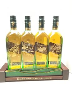 Johnnie Walker Green Label Limited Edition- Taiwan Wonders Collection with Display Stand