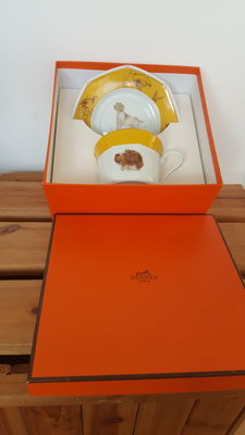 Hermes Paris cup and saucer
