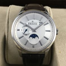 Zenith Captain Moonphase  03.2140.691  New With Tags - 2017