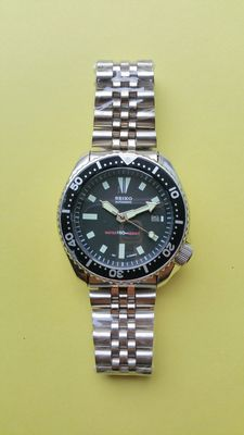 Seiko Vintage Diver's Watch – 42 mm of 07-1995