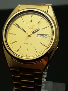 Seiko 5 Automatic – men's wristwatch – 1970s