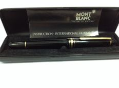 Authentic Montblanc Meisterstuck Fountain Pen In Box 14K Gold Nib 4810 585