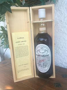 Glen Grant 1960 35 Years old by Gordon and MacPhail - rare version