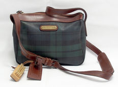 Vintage Ralph Lauren Check Green Handbag