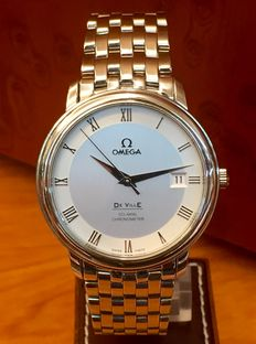 Omega De Ville Co-Axial Chronometer. Men's watch. Automatic. Year: 2009.