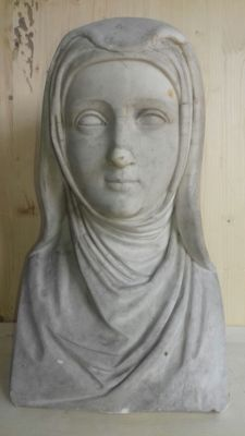 Carrara marble bust - 19th century