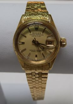 Rolex Oyster Perpetual Datejust. Automatic wristwatch for ladies.