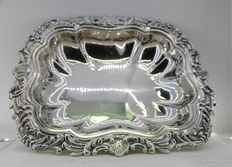 Sterling silver centrepiece or tray