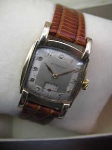 WITTNAUER Co - Art Deco crab - Swiss made - Men's wristwatch - 1930s/1940s - Unique collector