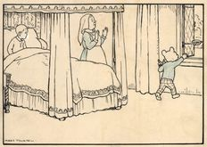 Tourtel, Mary - Original art for Rupert Bear - The little Princess - (1930)