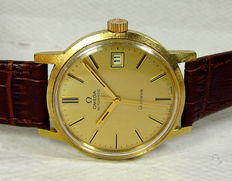Omega Geneve Automatic Men's Watch-Gold Plated Case-Vintage 1970s
