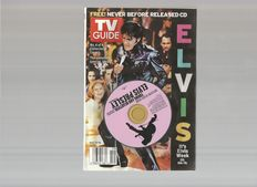 Elvis Presley   TV Guide   May 8-14, 2005. ELVIS  * House * Extreme Makeover: Wedding Edition.  TV Guide  July 4-10, 2004.  with Free Collector's CD.