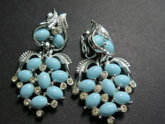 Bogoff - Vintage clip earrings - New York 1955-1960