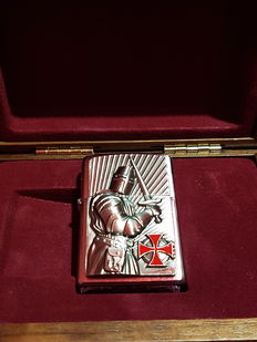 Zippo limited edition crusader warrior. Nr 270 of 1000. Year 2013. NEW with Original Box
