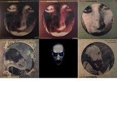 Marilyn Manson - Five Limited Edition Picture Discs