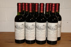 2000 Chateau Bigaroux, Saint-Emilion Grand Cru - 12 half bottles of 375 ml (demi)