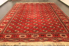 Beautiful old hand-woven Art Deco Oriental carpet, 260 x 360cm, circa 1950, made in Afghanistan