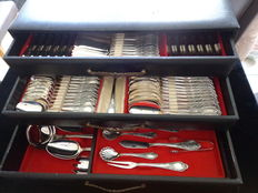 CMS Mertens 135 piece table cutlery 1953 Germany