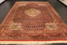 Oriental carpet - Indo Tabriz Naine - made in India - end of the 20th century - 250 x 350 cm
