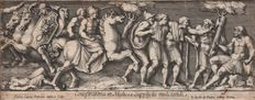 Petrus Sanctus Bartolus (1635-1700) - Conspiratores in Medices suppliciis mulctandi - After 'Raphael d'Urbin tapestries for the Sistine Chapel - Ca. 1660