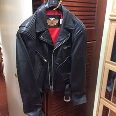 Harley Davidson - leather Jacket New of '90