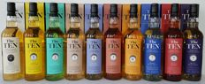 10 bottles - The Ten Collection -  70cl from La Maison du Whisky