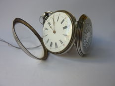 French Lepine pocket watch, wound up with key – Circa 1860