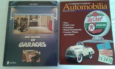 2 books on dream garages and collections from all over the world