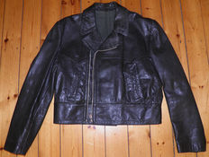 Leather flight jacket - Luftwaffe - Pilot Jacket. Very rare leather jacket