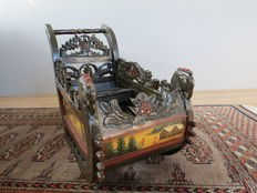 Antique children's sleigh, Germany, first half 20th century