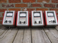Four vintage Crypton mini testers