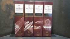 4 bottles - Macallan Whisky Maker's Edition - Nick Veasey X-Ray 2 Limited Edition