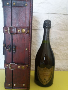 1973 Champagne Dom Perignon Vintage - 1 bottle (75cl) with wood box