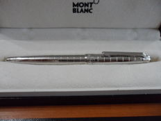 Montblanc Meisterstück Solitaire Platinum-Plated Facet Classique Rollerball 38247